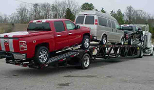 Low Car Ramps >> Car Haulers & Auto Transport Trailers in Tennessee | Wally-Mo Trailers - 4 Car Trailer