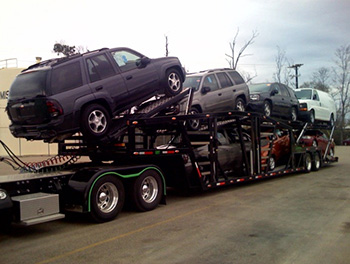 Car Ramps For Sale >> Car Haulers & Auto Transport Trailers in Tennessee | Wally-Mo Trailers - 7 Car Trailer